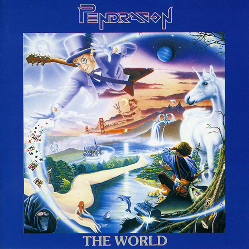 The World by PENDRAGON album cover