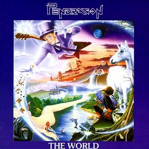 Pendragon - The World CD (album) cover