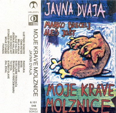 Moje krave molznice (with Ales Jost and JAVNA DVAJA) by BRECELJ, MARKO album cover