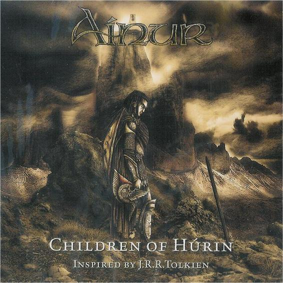 Ainur - Children of Hurin CD (album) cover