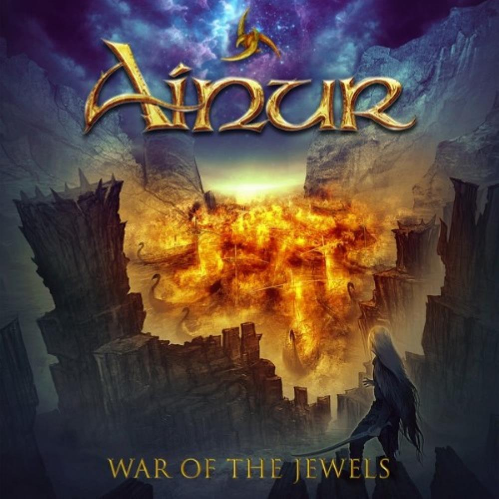 War of the Jewels by AINUR album cover