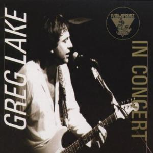 In Concert on The King Biscuit Flower Hour by LAKE, GREG album cover