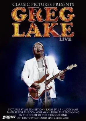 Greg Lake - Live (DVD) CD (album) cover
