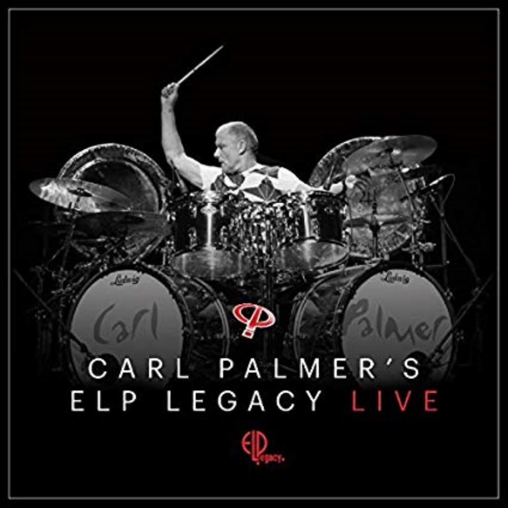 ELP Legacy Live by PALMER, CARL album cover