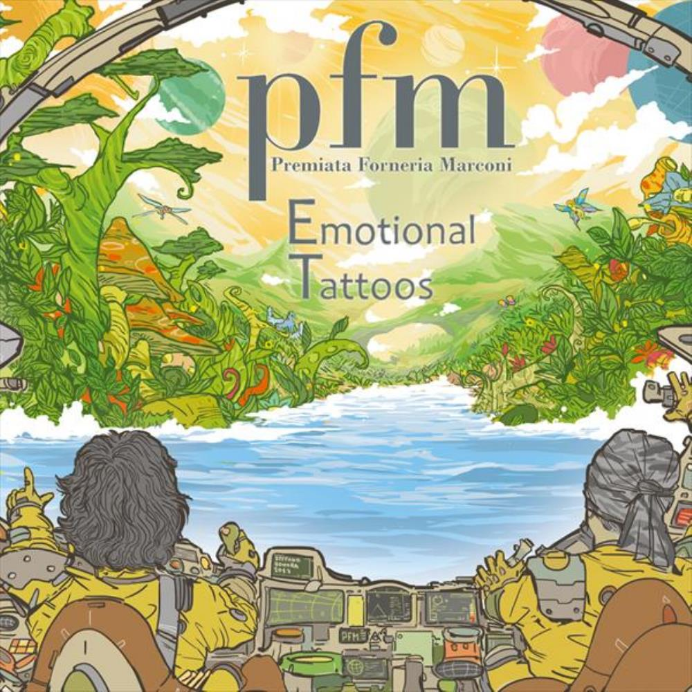 Emotional Tattoos by PREMIATA FORNERIA MARCONI (PFM) album cover