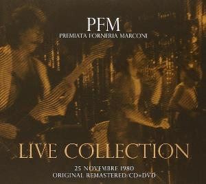 Premiata Forneria Marconi (PFM) Live Collection - 25 novembre 1980 album cover