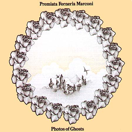 Photos Of Ghosts by PREMIATA FORNERIA MARCONI (PFM) album cover