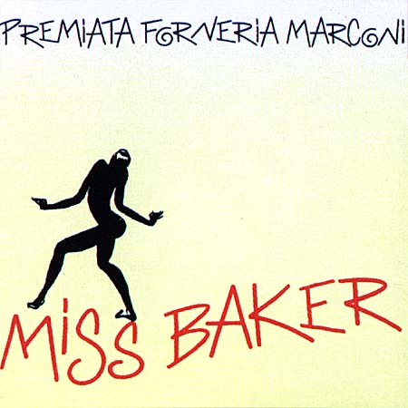 Premiata Forneria Marconi (PFM) - Miss Baker  CD (album) cover