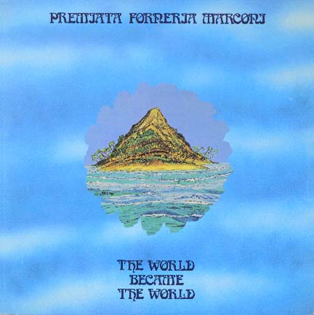 Premiata Forneria Marconi (PFM) - The World Became the World CD (album) cover