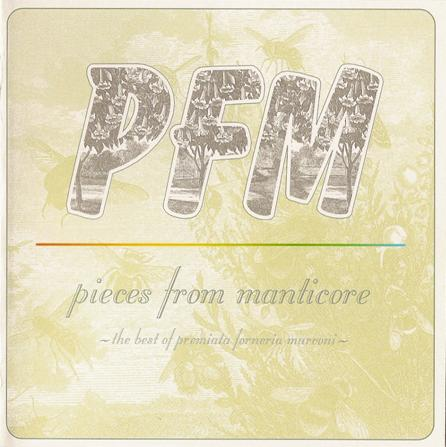 Premiata Forneria Marconi (PFM) Pieces From Manticore album cover