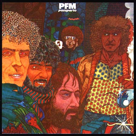 Premiata Forneria Marconi (PFM) - Passpartù CD (album) cover