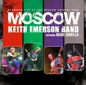 Keith Emerson Band Featuring Marc Bonilla - Moscow by EMERSON, KEITH album cover