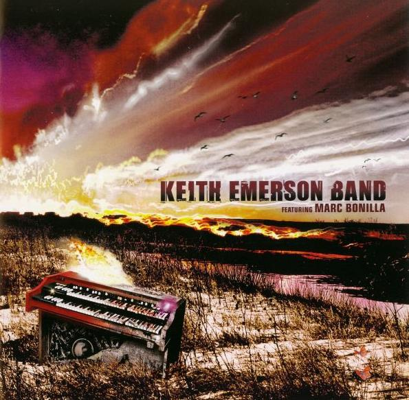 Keith Emerson - Keith Emerson Band featuring Marc Bonilla CD (album) cover