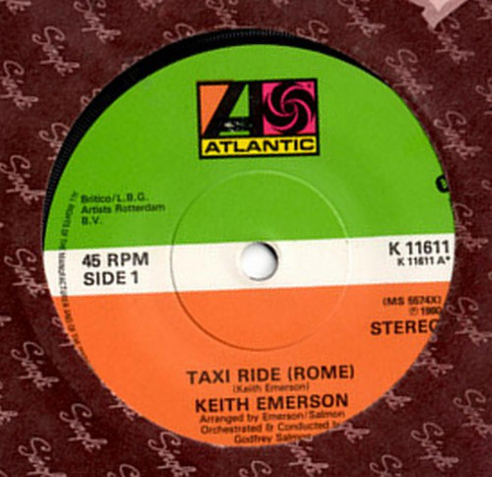 Taxi Ride (Rome) by EMERSON, KEITH album cover