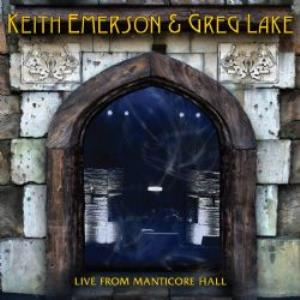 Live From Manticore Hall (Emerson & Lake) by EMERSON, KEITH album cover