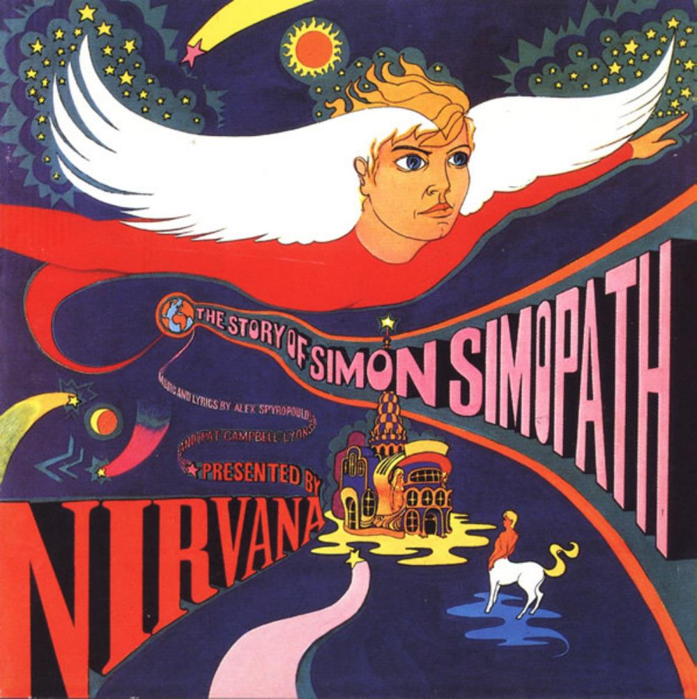 The Story Of Simon Simopath by NIRVANA album cover