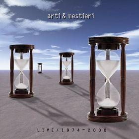 Live 1974/2000  by ARTI E MESTIERI album cover