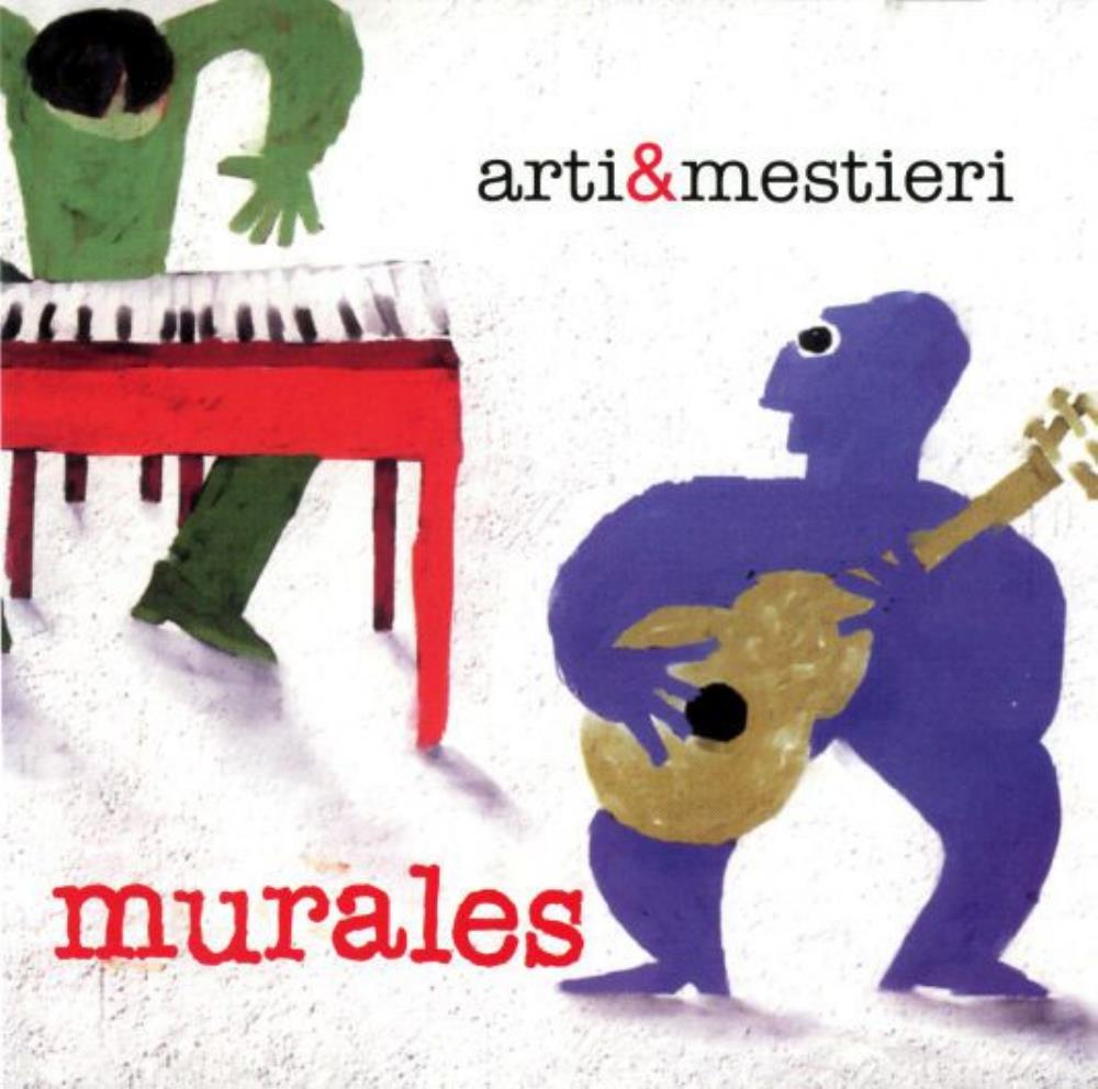 Arti E Mestieri - Murales CD (album) cover