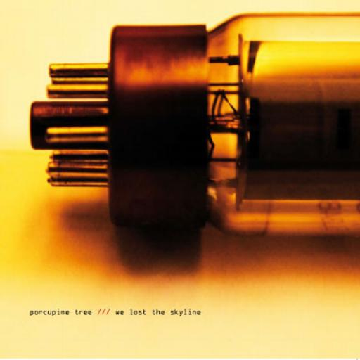 Porcupine Tree - We Lost The Skyline CD (album) cover