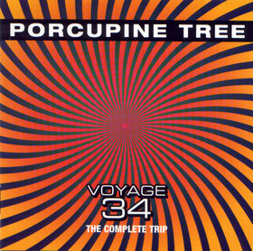 Porcupine Tree - Voyage 34 - The Complete Trip  CD (album) cover