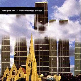 Porcupine Tree - 4 Chords That Made A Million  CD (album) cover