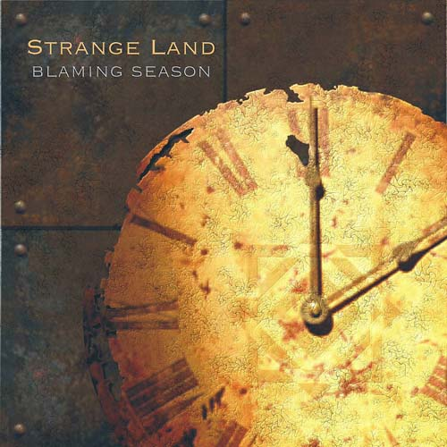 Strange Land Blaming Season album cover