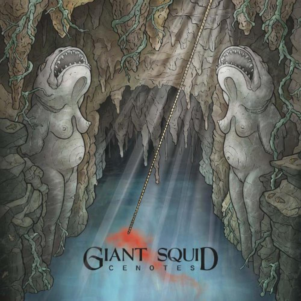 Giant Squid Cenotes album cover