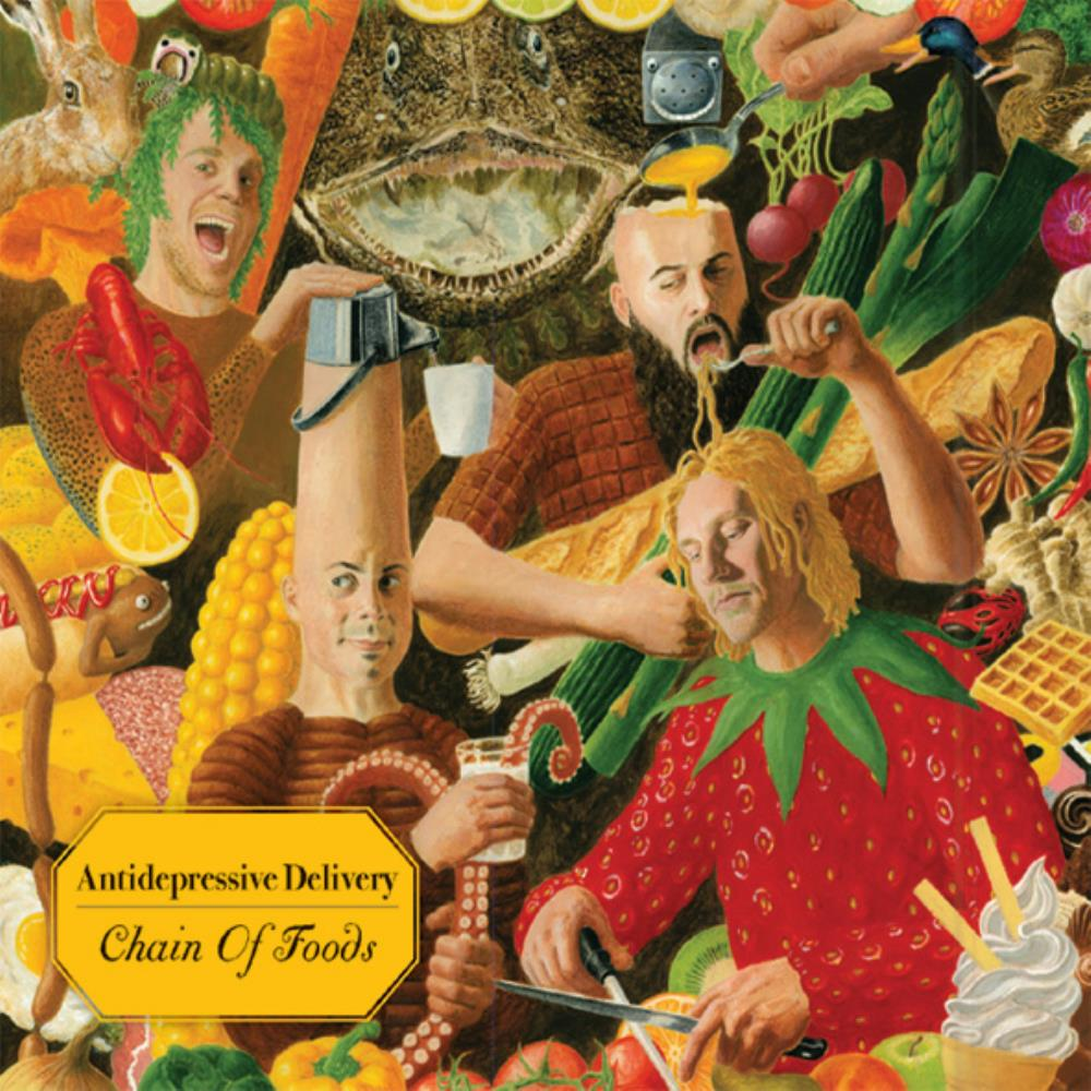 Chain Of Foods by ANTI-DEPRESSIVE DELIVERY album cover