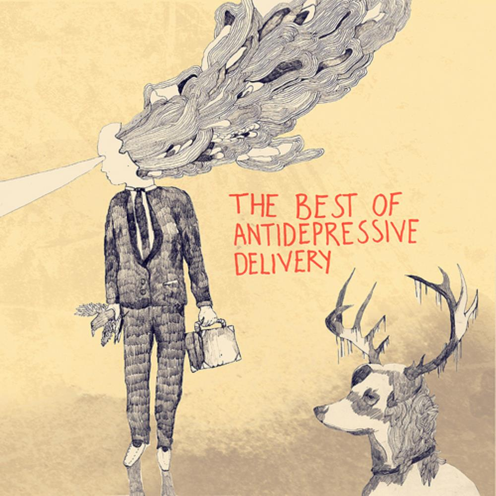 The Best Of Antidepressive Delivery by ANTI-DEPRESSIVE DELIVERY album cover