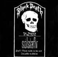 Solstafir Black Death: The album cover