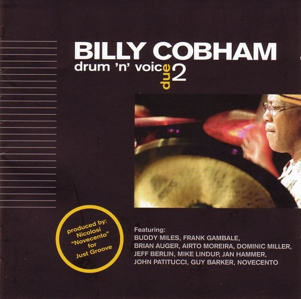 Billy Cobham Drum N Voice 2 album cover