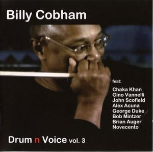 Billy Cobham Drum n Voice Vol.3 album cover