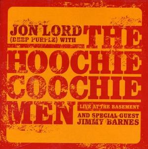 Live At The Basement (With The Hoochie Coochie Men and Special Guest Jimmy Barnes) by LORD, JON album cover