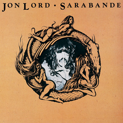 Jon Lord - Sarabande CD (album) cover
