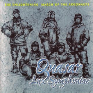 Quasar Lux Symphoniae - The Enlightening March of the Argonauts CD (album) cover