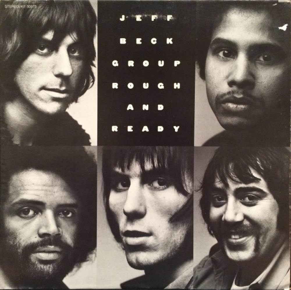 Jeff Beck Jeff Beck Group: ‎Rough And Ready album cover