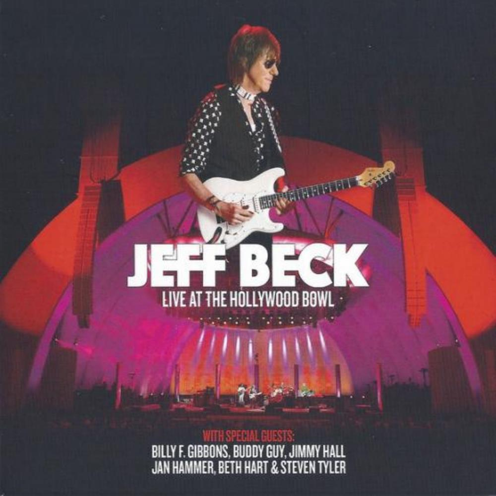 Jeff Beck Live At The Hollywood Bowl album cover