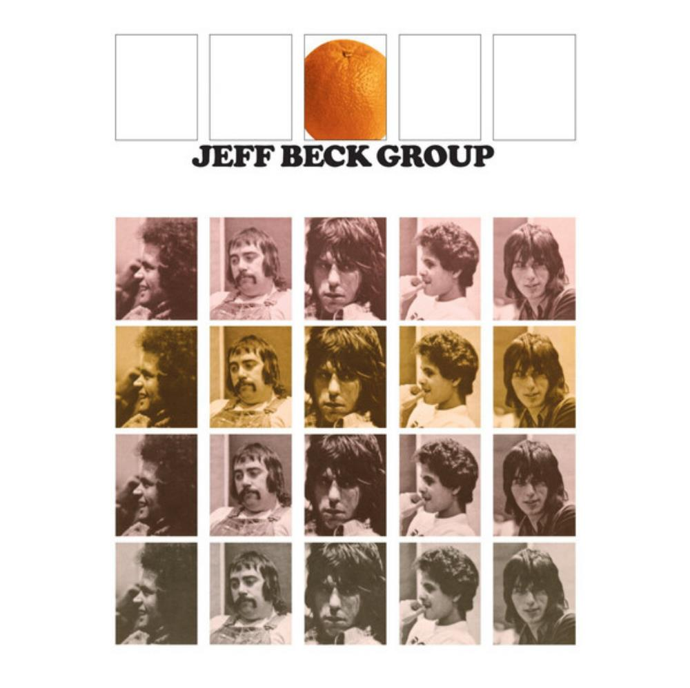 Jeff Beck Group [Aka: Orange Album] by BECK, JEFF album cover