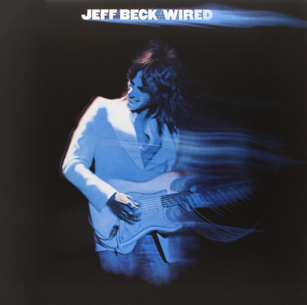 Jeff Beck Wired album cover