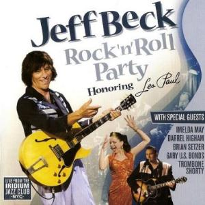 Jeff Beck Rock'n'Roll Party. Honoring Les Paul album cover