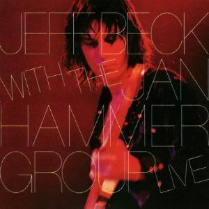 Jeff Beck Jeff Beck With The Jan Hammer Group: Live album cover