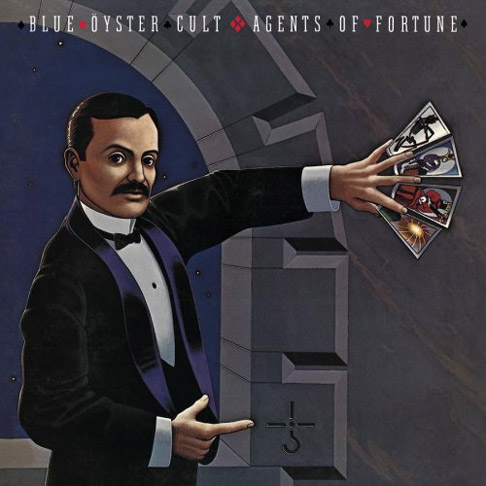 Blue �yster Cult - Agents of Fortune CD (album) cover