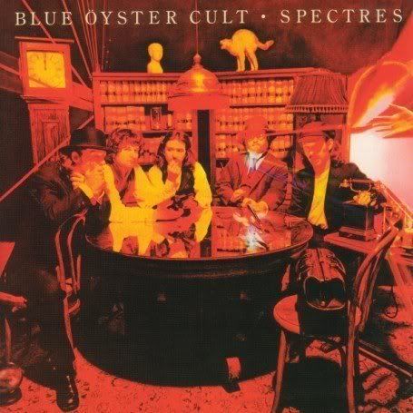 Blue �yster Cult - Spectres CD (album) cover