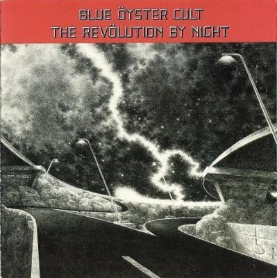 Blue �yster Cult The Rev�lution by Night album cover