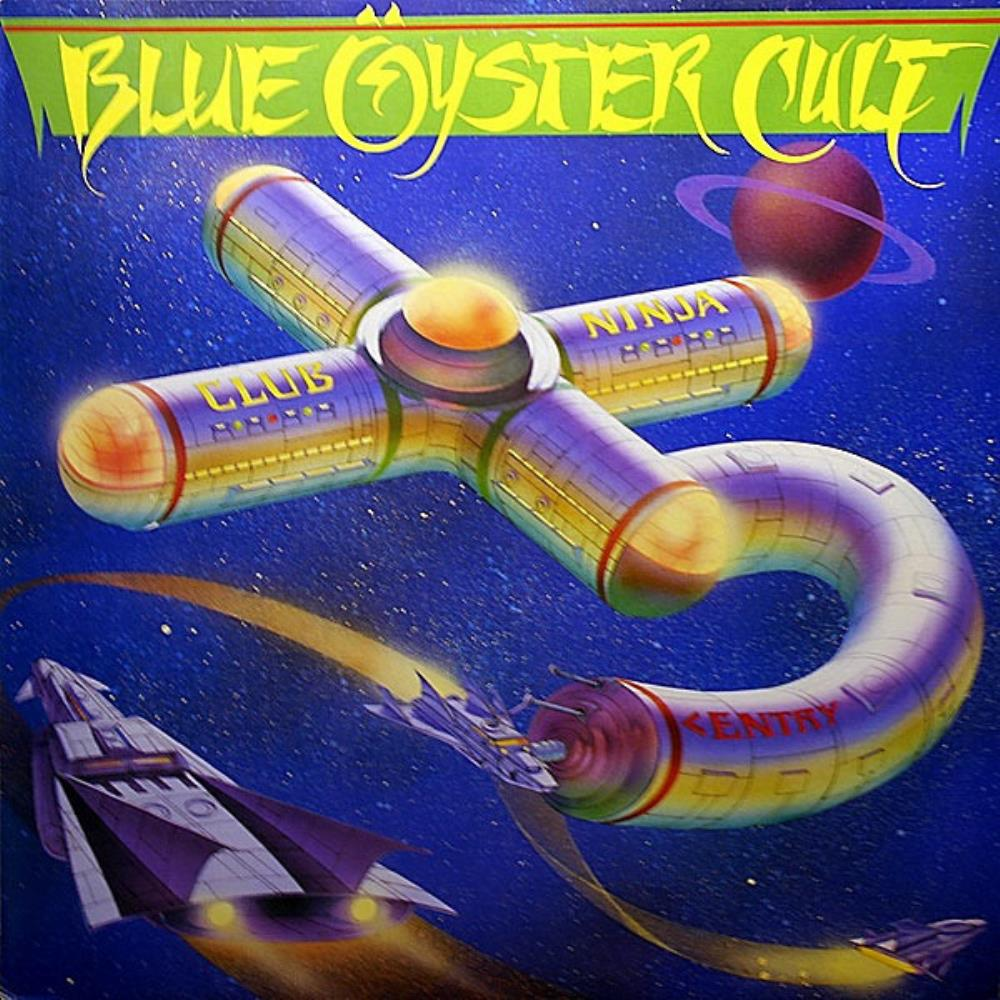Club Ninja by BLUE ÖYSTER CULT album cover