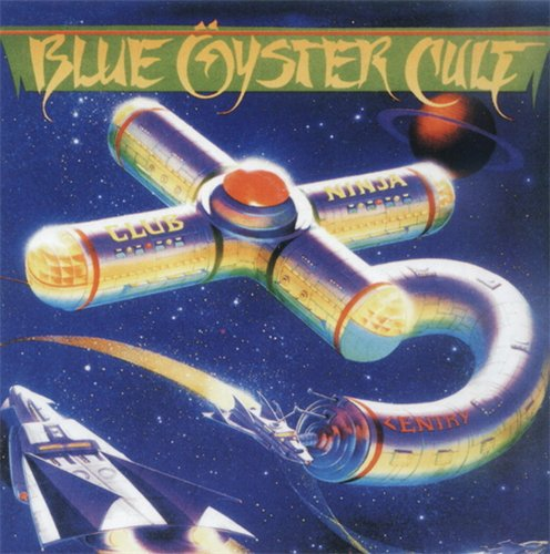 Blue �yster Cult - Club Ninja CD (album) cover