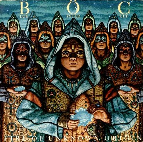 Blue �yster Cult - Fire Of Unknown Origin CD (album) cover
