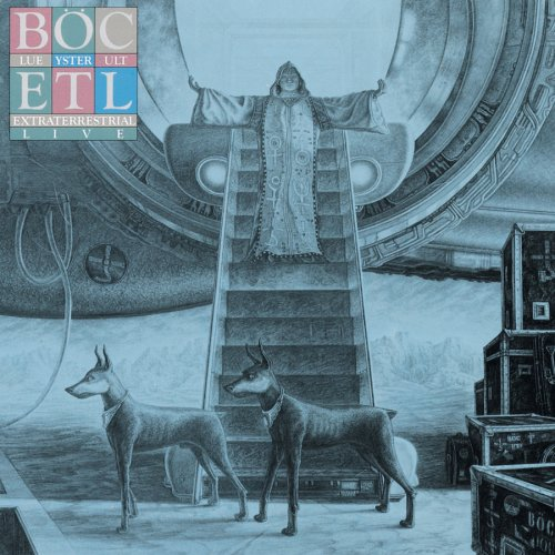 Blue �yster Cult - Extraterrestrial Live CD (album) cover