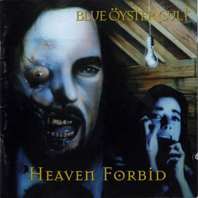 Blue �yster Cult - Heaven Forbid CD (album) cover