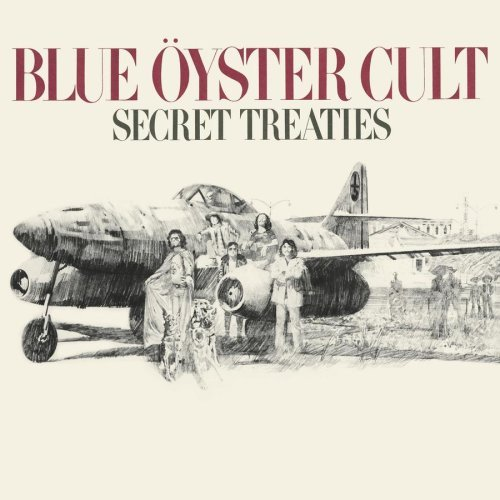 Blue �yster Cult Secret Treaties album cover